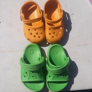 Baby croc bundle